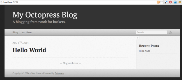 Setting up an Octopress/Jekyll blog in your Rails